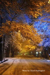برف استهبان ۲
